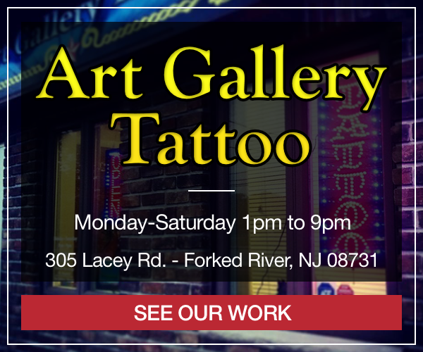 Art Gallery Tattoo - Visit us on Facebook